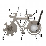 UST Bicycle Tool A Long Multi-Tool