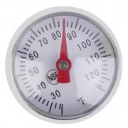 Analoge vlees thermometer met draagclip